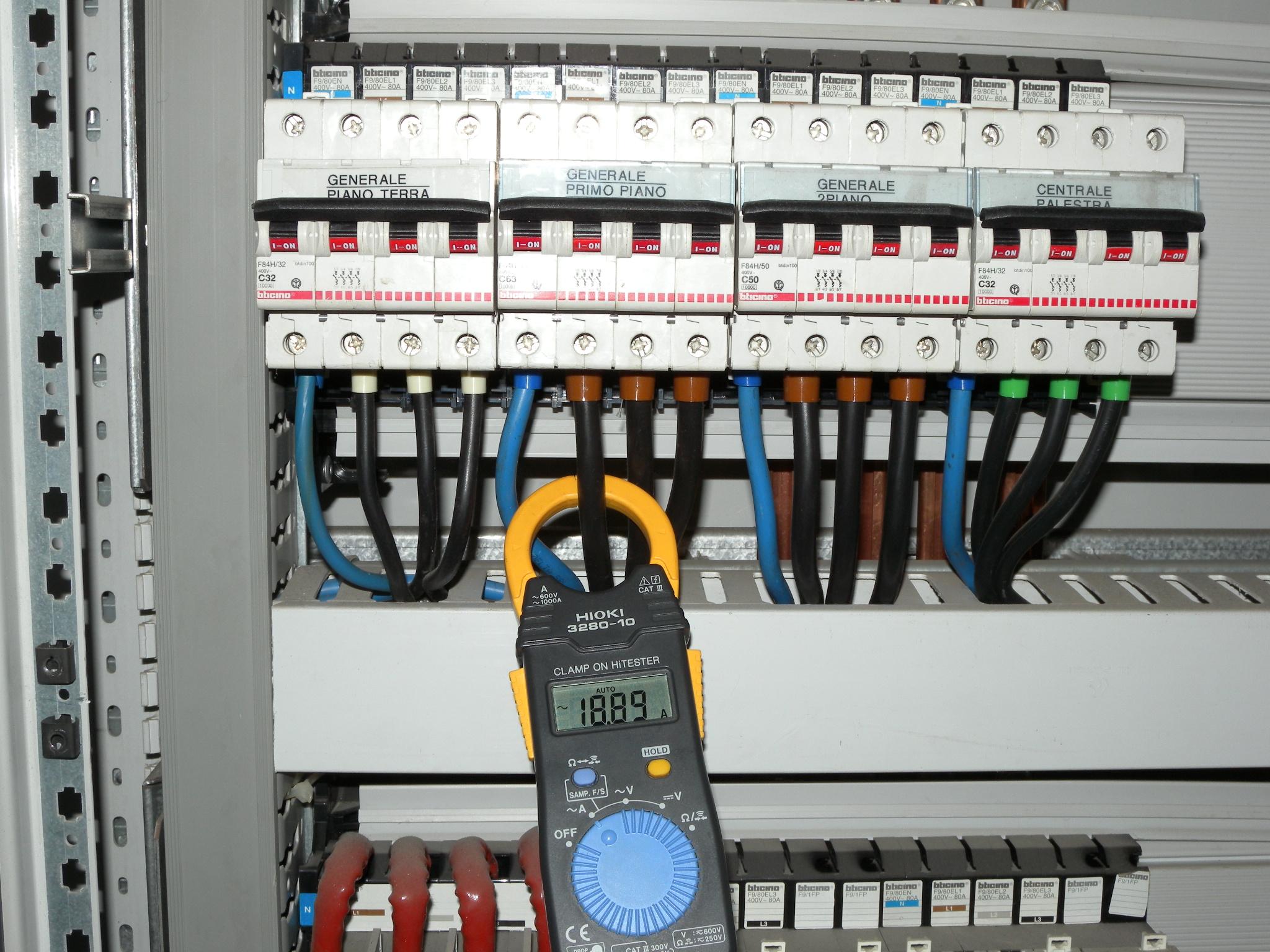 Schema Cablaggio Quadro Elettrico Trifase : Quadro elettrico istituto scolastico catania
